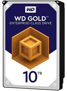 HDD 10TB SATAIII WD Gold 7200rpm 256MB for servers (5 years warranty)