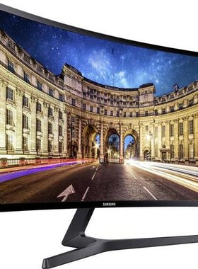 "Monitor Samsung C27F396F Curved 27"" LED, Full HD (1920x1080), Brightness: 250cd/m2, Contrast: 3000:1, Response time: 4ms, Viewing Angle: 178°/178° , D-SUB, HDMI,  Black"