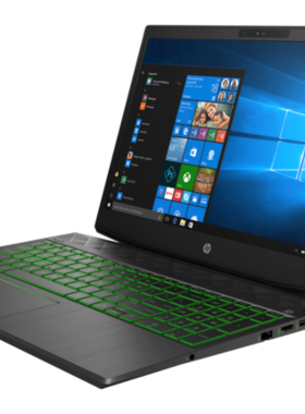 HP Pavilion Gaming Intel Core i7-8750H hexa ( 2.20 GHz up to  4.10 GHz 6 cores 9 MB Cache) 8GB DDR4 2DM 2400 MHz 1TB 7200RPM HDD Nvidia GeForce GTX 1050 4GB  15.6 FHD Antiglare slim IPS 60Hz Narrow Border FreeDOS  ShadowBlack w/ Acid green pattern 2 years