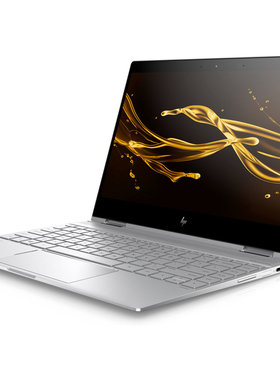 HP Spectre x360 Intel Core i7-8550U quad 8 GB LPDDR3-2133 SDRAM on-board 512 GB PCIe® NVMe™ M.2 SSD HDD Intel HD Graphics  Touch/13.3 FHD Brightview ultraslim IPS Windows 10 Home Natural silver - FHD IR camera 1 year warranty