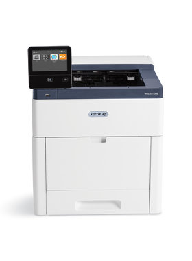 Принтер Xerox VersaLink C600N, A4, Color Laser Printer, 53 ppm colour and black and white, Up to 1200 x 2400 dpi, Up to 120,000 pages / month, 1.05 GHz Dual-Core / 2 GB, Ethernet 10/100/1000 Base-T, USB 3.0, NFC Tap-to-Pair, 550 Sheet Tray, 150 sheet bypa