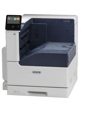 Принтер Xerox VersaLink C7000N, A3 Color Laser Printer, 35 ppm, 1.05 GHz Dual-Core, 2 GB, 320 GB HDD (Optional), Ethernet 10/100/1000 Base-T, High-speed USB 3.0, NFC Tap-to-Pair, Up to 153,000 pages / month, 620 sheets, 2,180 sheets