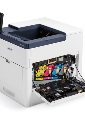 Принтер Xerox VersaLink C500N + комплект цветни тонери, A4, Color Laser Printer, 43 ppm colour and black and white, Up to 1200 x 2400 dpi, Up to 120,000 pages / month, 1.05 GHz Dual-Core / 2 GB, Ethernet 10/100/1000 Base-T, USB 3.0, NFC Tap-to-Pair, 550 S