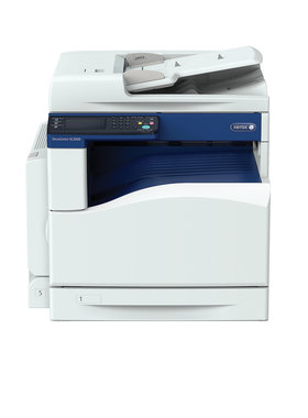 Xerox DocuCentre SC2020 DADF (110 sheets) Duplex, 20ppm, 100-sht Bypass, Tray 1:  250 sheets, EU powercord