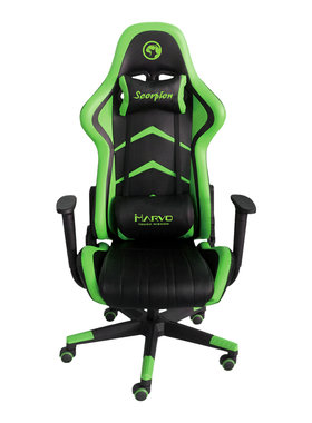 Marvo геймърски стол Gaming Chair CH-106 Black/Green
