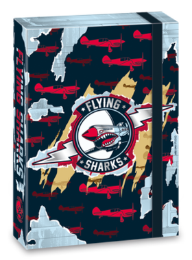 Flying Sharks А4 кутия с ластик