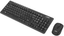 Комплект uGo Wireless set 2in1 ETNA CW110 keyboard & mouse, US layout