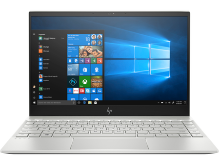 HP ENVY Intel Core i5-8250U quad | 8GB LPDDR3 on-board 256GB PCIe value  Intel UHD Graphics - UMA  13.3 FHD Brightview ultraslim flush glass IPS  Windows 10Home Natural silver 2 years warranty