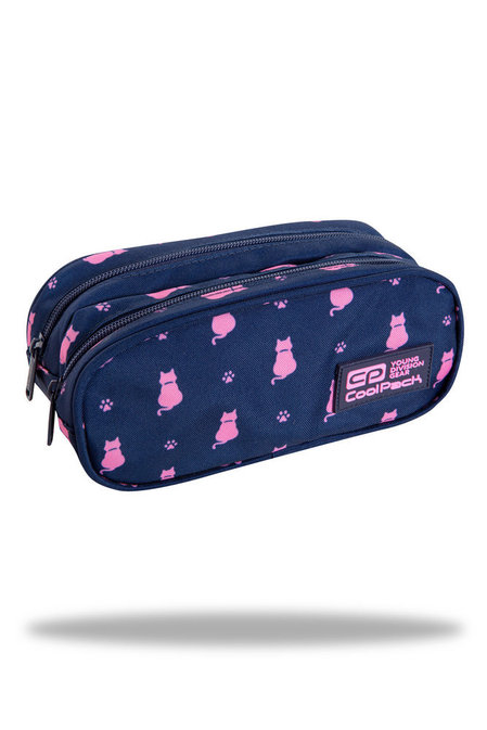 Несесер с два ципа COOLPACK - CLEVER – NAVY KITTY
