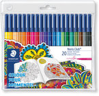 Флумастри Staedtler NC 326, Adult Colouring, 20 цв
